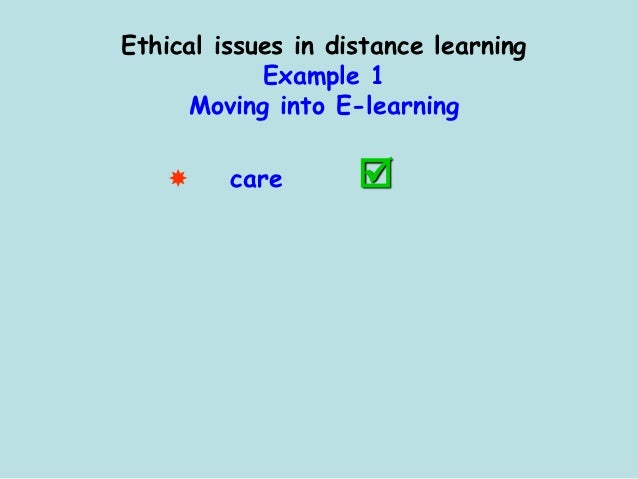ethical issues in education Issues and action essa implementation begins  the code of ethics of the education profession indicates the aspiration of all educators and provides standards by .