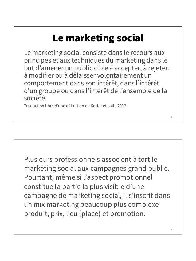 Le Marketing Social Que Faire Et Que Dire Pour Persuader
