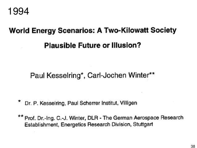 """39 1998 L' ETH-Board inizia il progetto: """"2000 watt society – Switzerland"""" L'ETH-Board è costituito da:"""