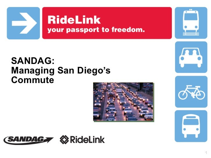 SANDAG:  Managing San Diego's Commute