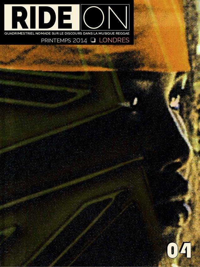 0404 quadrimestriel nomade sur le discours dans la musique reggae PRINTEMPS 2014 J LONDRES