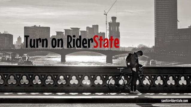 Enjoy!  santi@riderstate.com