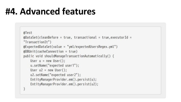 Resources and materials https://github.com/xpinjection/test-driven-spring-boot - examples from the talk https://database-r...