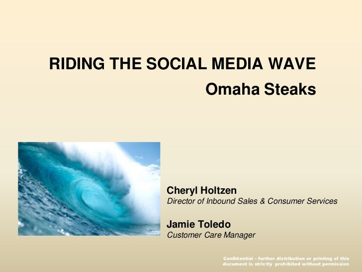 Riding the Social Media Wave