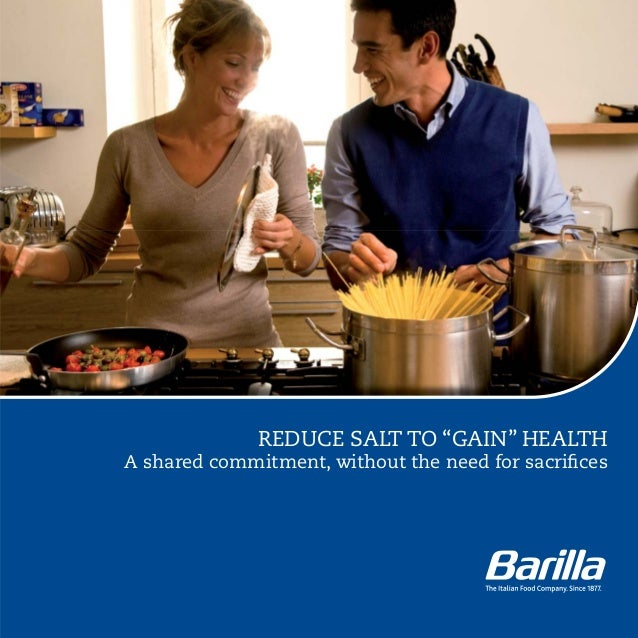 """REDUCE SALT TO """"GAIN"""" HEALTHA shared commitment, without the need for sacrifices"""