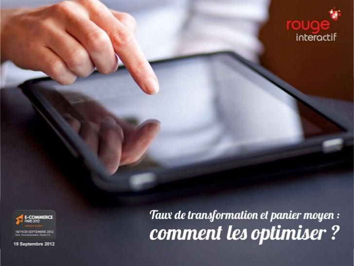 Au programme2                                          04/10/2012     n Préambule : l'agence Rouge Interactif     n Pourqu...