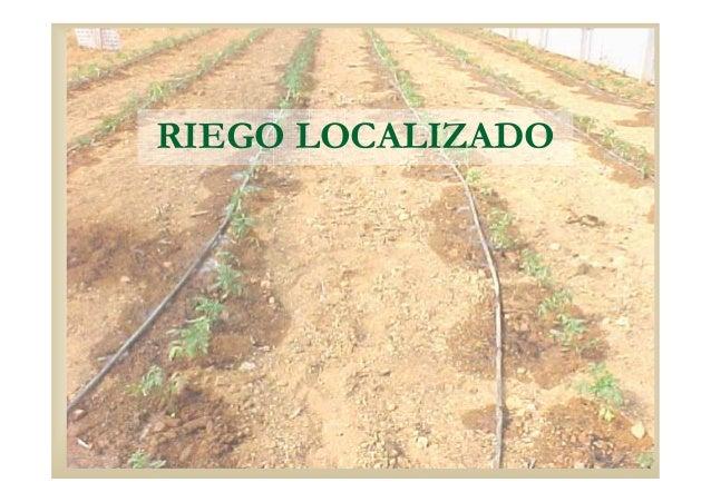 RIEGO LOCALIZADO
