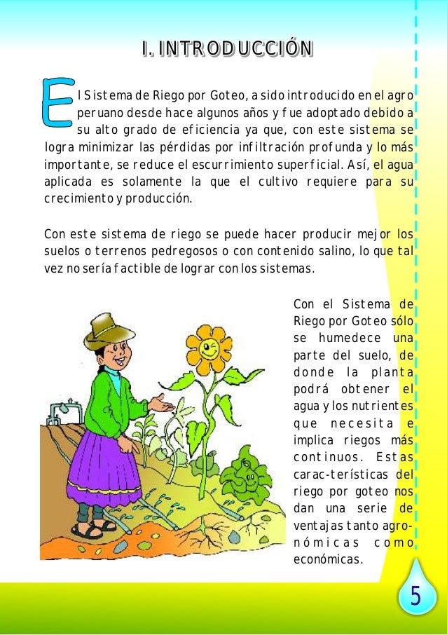Manual de riego por goteo en peque as comunidades - Tuberias de riego por goteo ...