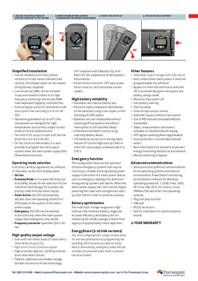 Ecopowersupplies: Riello Sentinel Dual High Power UPS