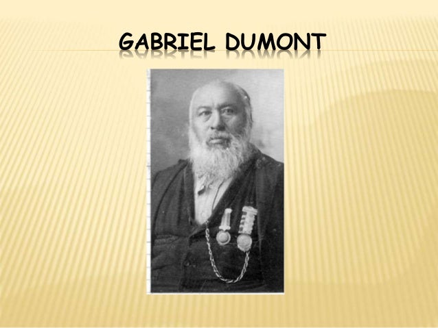 gabriel dumont and louis riel relationship help