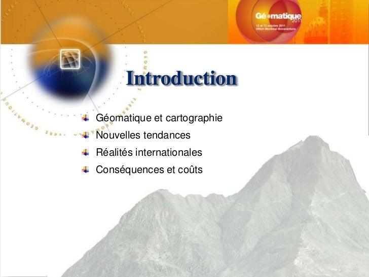 """""""Précis"""" de précision : comment gérer la précision cartographique dans un projet complexe Slide 3"""