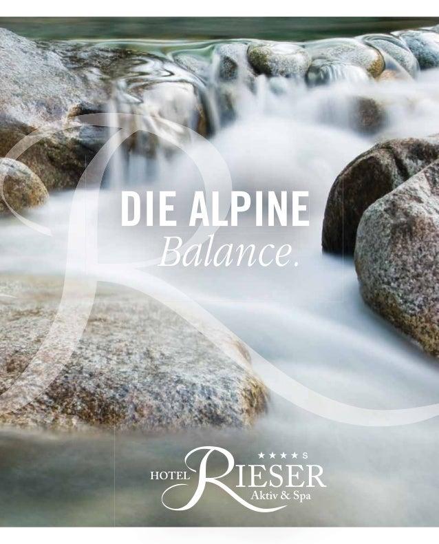 DIE ALPINE  Balance.