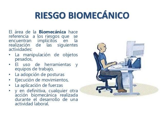 Riesgo Biomec Nico O Ergon Mico