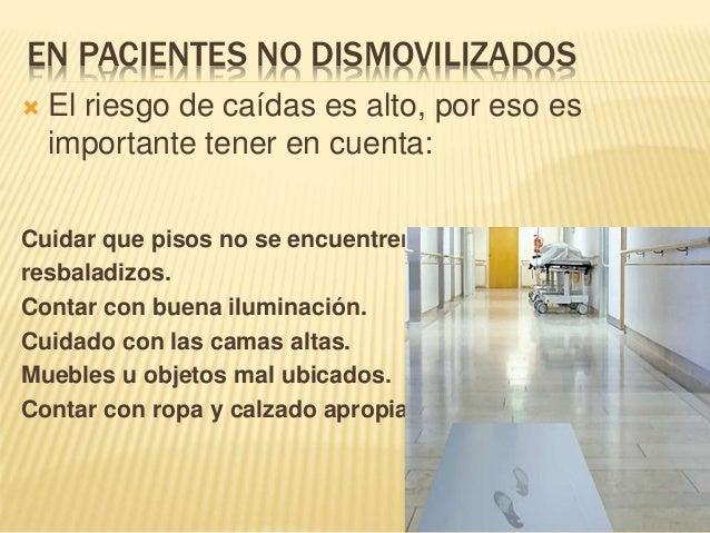 IMPORTANTE!!!!!  No olvidar tener cuidado en revisar periódicamente el estado de bastones, sillas de ruedas y andadores
