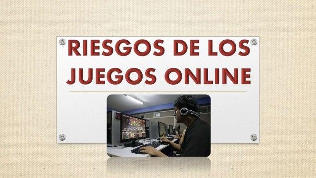 Los Riesgos Los Juegos Online