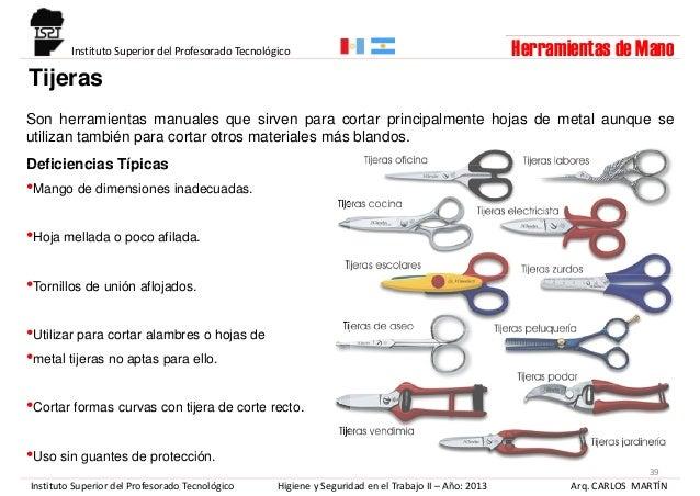 Riesgo mecanico herramientas de mano - Herramientas de mano ...