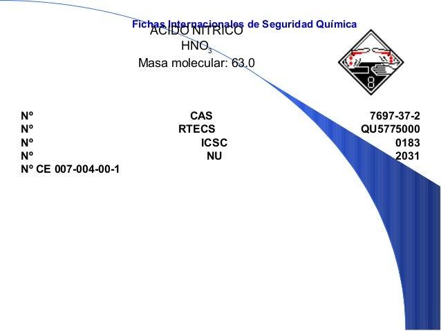 PROPIEDADESFISICASPunto de ebullición: 121°CPunto de fusión: -41.6°CDensidad relativa (agua = 1): 1.4Solubilidad en agua: ...