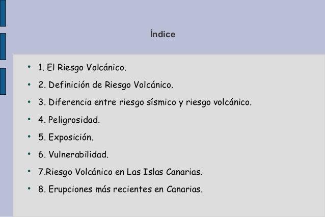 Riesgos de los volcánes en canarias. caty Slide 2