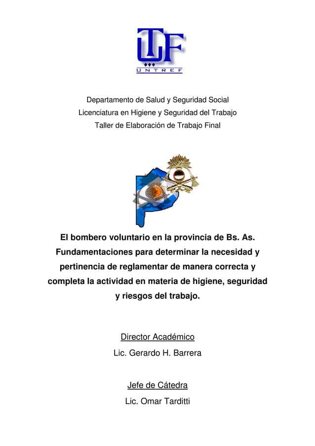 Departamento de Salud y Seguridad Social Licenciatura en Higiene y Seguridad del Trabajo Taller de Elaboración de Trabajo ...