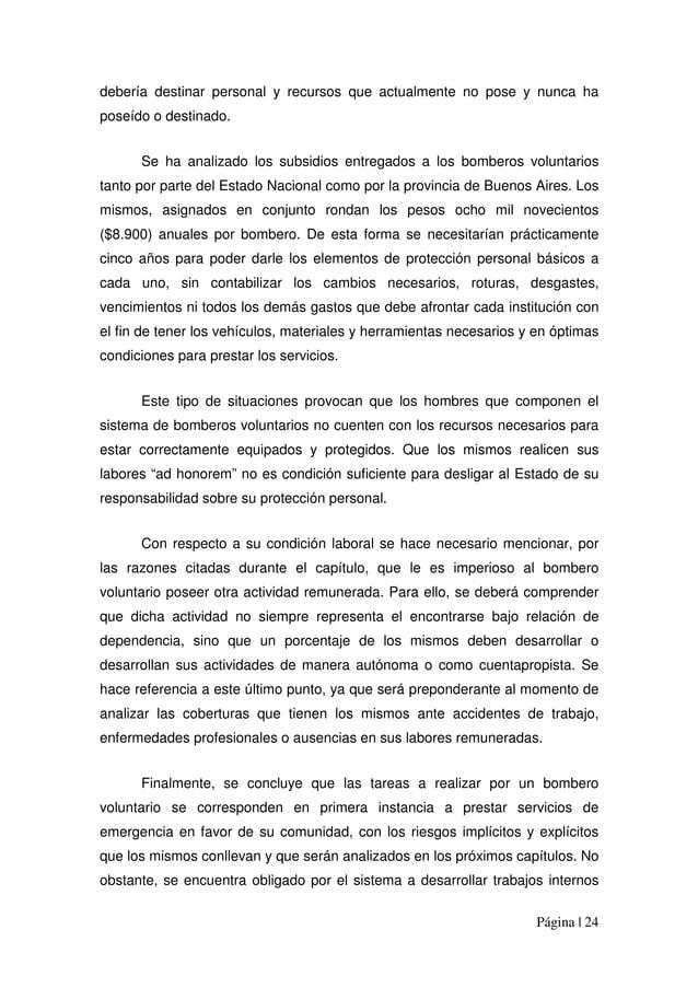 Página | 24 debería destinar personal y recursos que actualmente no pose y nunca ha poseído o destinado. Se ha analizado l...