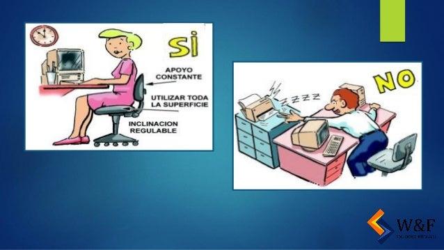 peligros y riesgos en oficinas