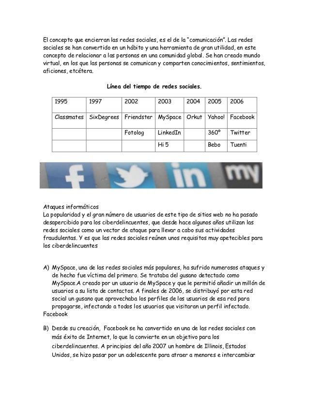 """El concepto que encierran las redes sociales, es el de la """"comunicación"""". Las redessociales se han convertido en un hábito..."""
