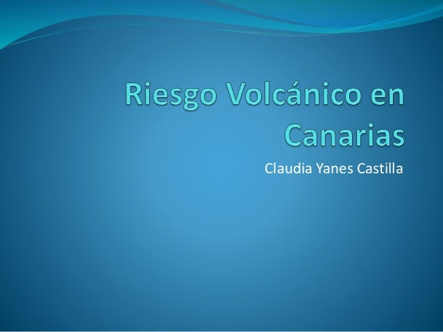 Claudia Yanes Castilla