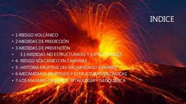 Riesgos volcánicos en canarias Slide 2