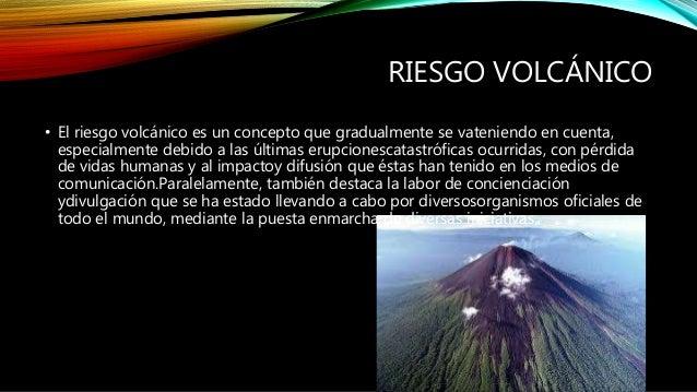 Riesgos volcánicos en canarias Slide 3