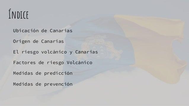 Riesgo volcánico en Canarias Slide 2
