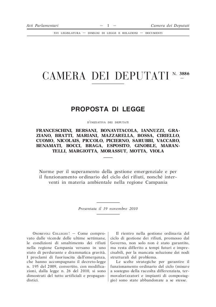 Atti Parlamentari                           —   1    —                     Camera dei Deputati               XVI LEGISLATU...