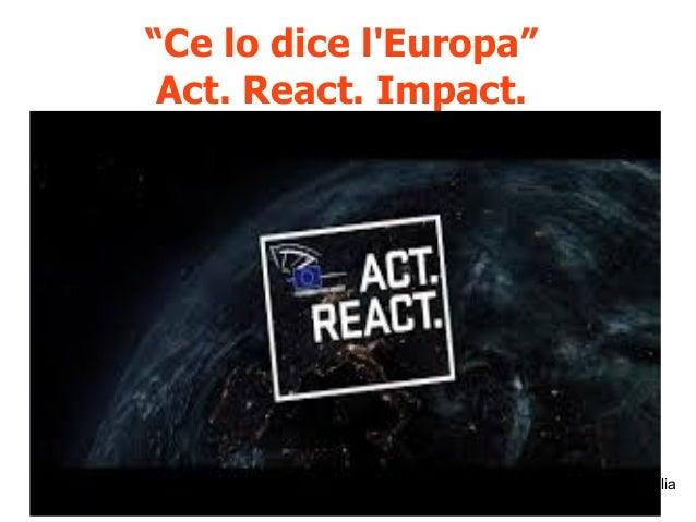 """19 settembre 2015 Firenze: rifiuti zero, informazione e trasparenza @rosybattaglia """"Ce lo dice l'Europa"""" Act. React. Impac..."""