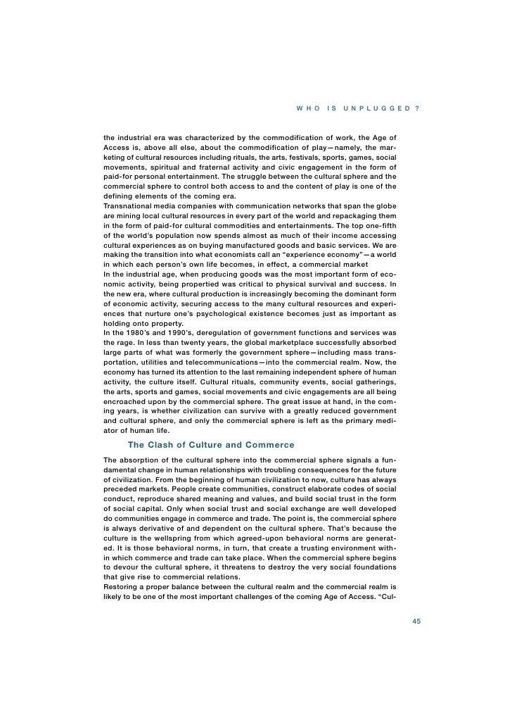 the age of access jeremy rifkin pdf