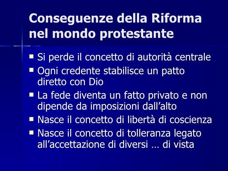 Riforma protestante gloria
