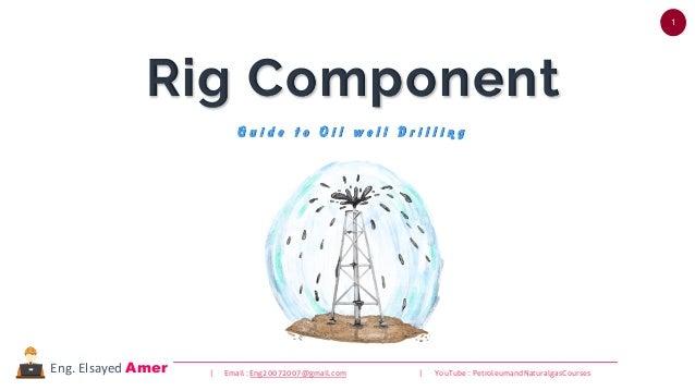 1 | Email : Eng20072007@gmail.com | YouTube : PetroleumandNaturalgasCoursesEng. Elsayed Amer Rig Component G u i d e t o O...