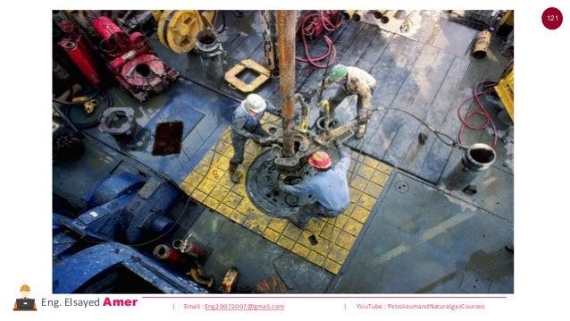121 | Email : Eng20072007@gmail.com | YouTube : PetroleumandNaturalgasCoursesEng. Elsayed Amer