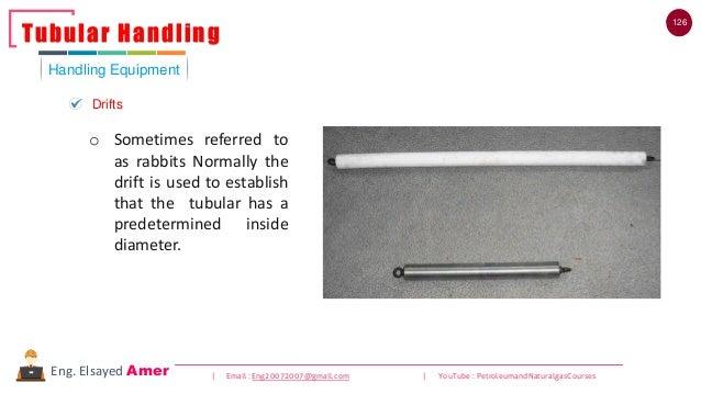 126 | Email : Eng20072007@gmail.com | YouTube : PetroleumandNaturalgasCoursesEng. Elsayed Amer Handling Equipment Tubular ...