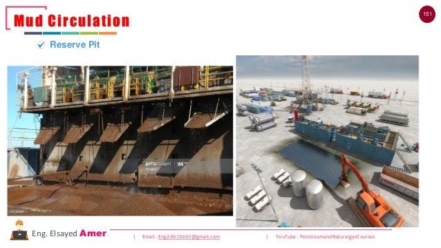 151 | Email : Eng20072007@gmail.com | YouTube : PetroleumandNaturalgasCoursesEng. Elsayed Amer Mud Circulation Reserve Pit