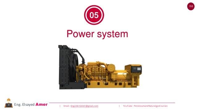 155 | Email : Eng20072007@gmail.com | YouTube : PetroleumandNaturalgasCoursesEng. Elsayed Amer Power system 05