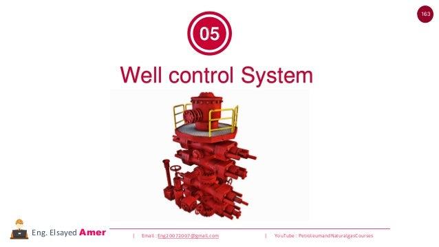 163 | Email : Eng20072007@gmail.com | YouTube : PetroleumandNaturalgasCoursesEng. Elsayed Amer Well control System 05