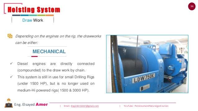 36 | Email : Eng20072007@gmail.com | YouTube : PetroleumandNaturalgasCoursesEng. Elsayed Amer ✓ Diesel engines are directl...