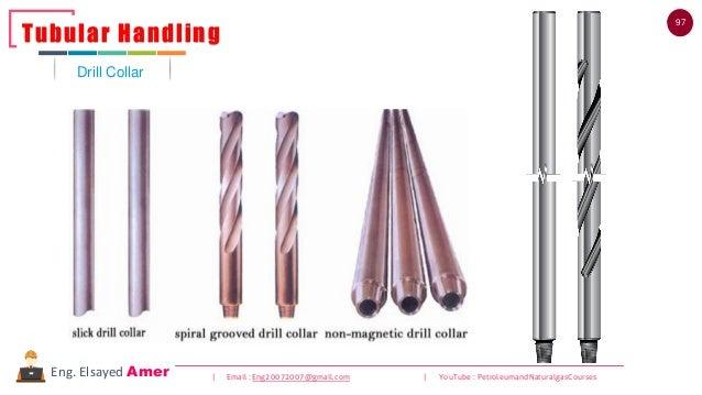 97 | Email : Eng20072007@gmail.com | YouTube : PetroleumandNaturalgasCoursesEng. Elsayed Amer Drill Collar Tubular Handling