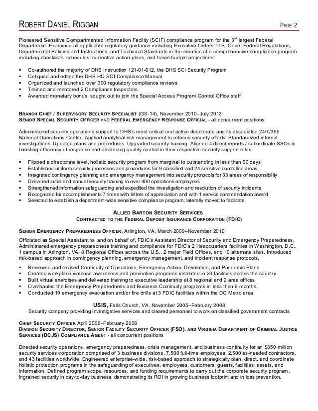 Dorable Emergency Management Resume Virginia Image - Administrative ...
