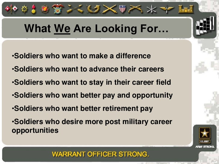 NAVY ENLISTED TO CWO OFFICER PROGRAM BRIEF