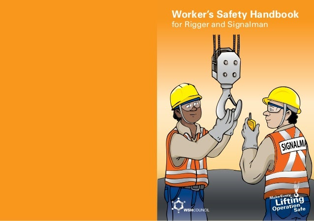 Worker's Safety Handbook for Rigger and Signalman