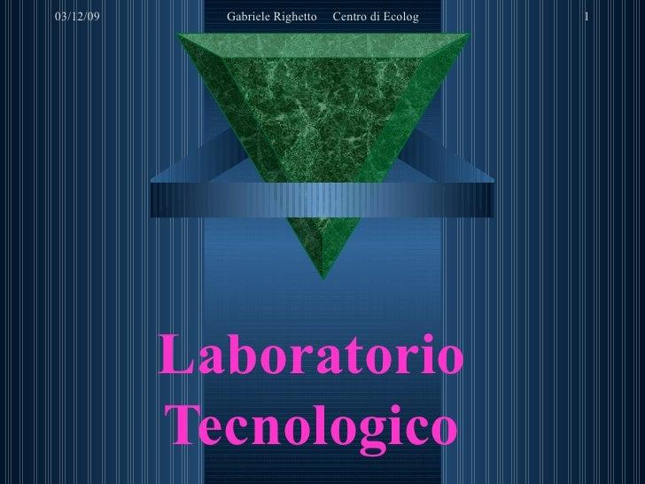 Laboratorio Tecnologico