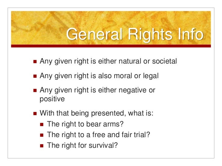 moral and legal rights
