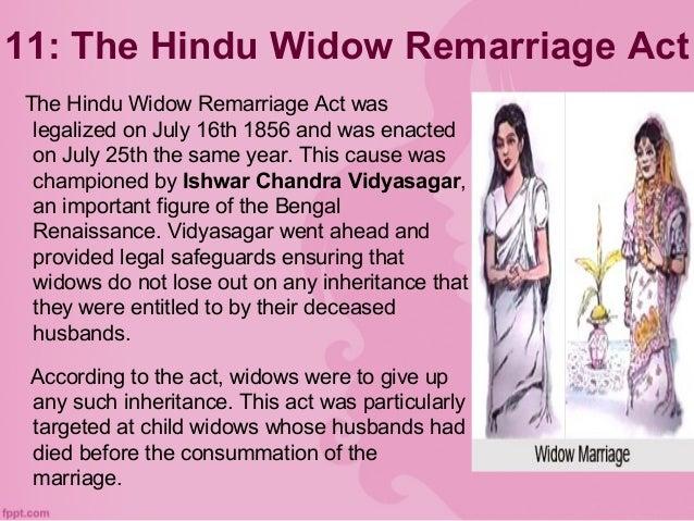 HINDU WIDOWS REMARRIAGE ACT 1856 PDF