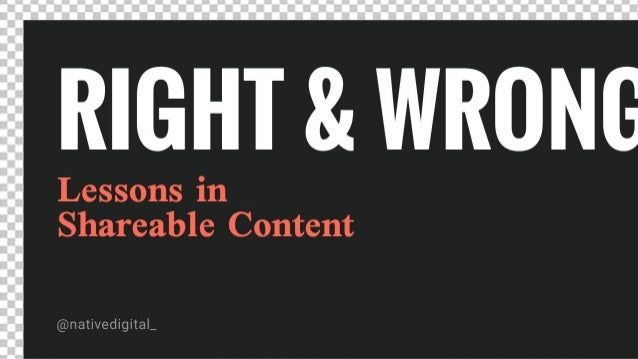 SMCKC March Breakfast Right and Wrong - Lessons in shareable content