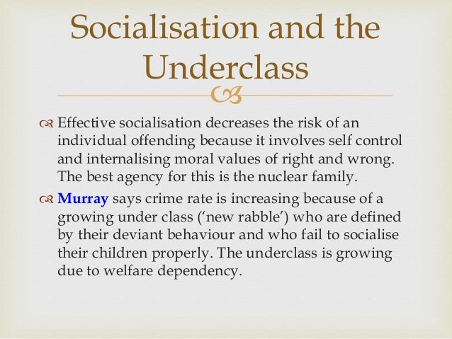 who are the underclass
